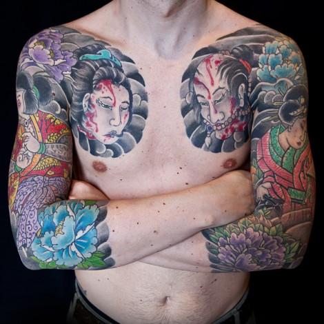 Japanese Namakubi Tattoo 10 Japanese Tattoo Ideas And